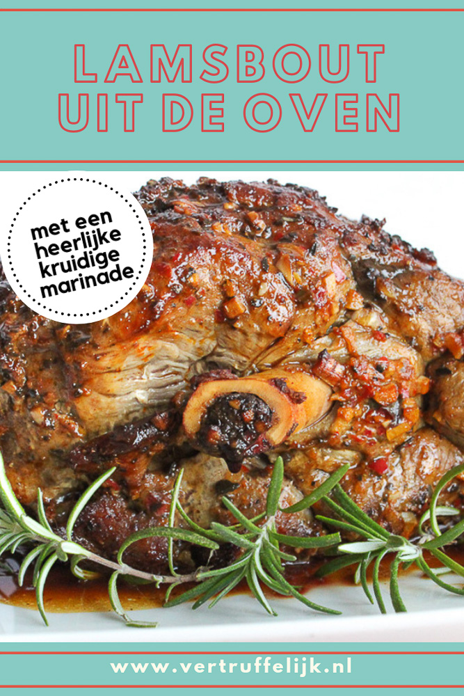 Heerlijke lamsbout uit de oven