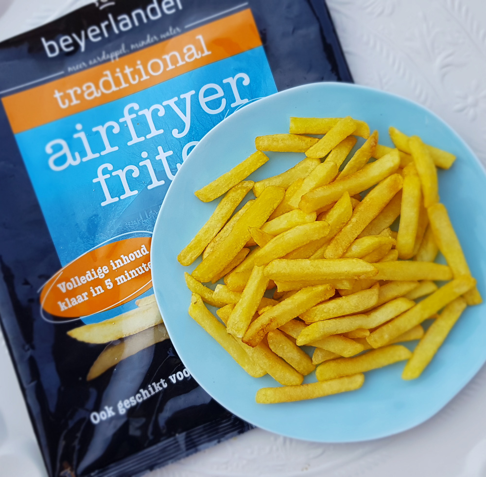Airfryer frieten test