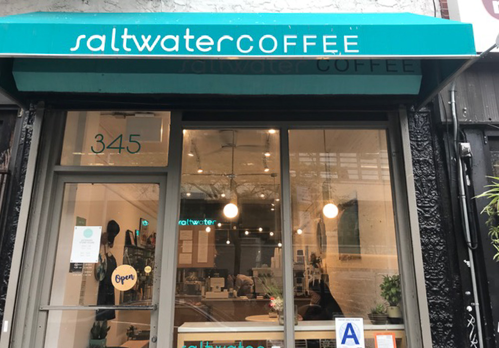 Saltwater coffee