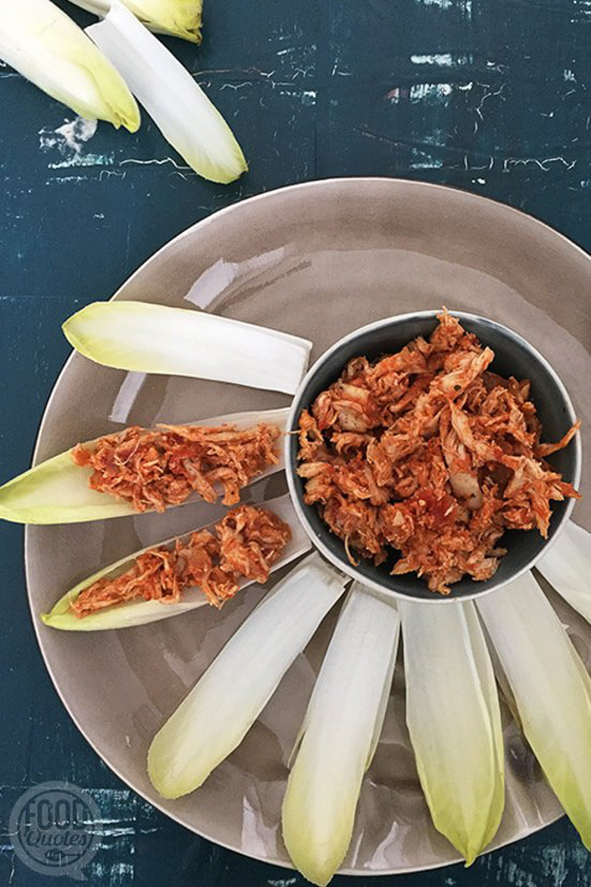 BBQ Pulled chicken, paleo proof van FoodQuotes