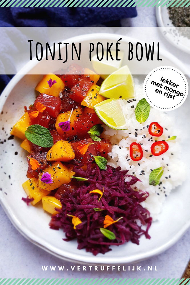 Tonijn poké bowl
