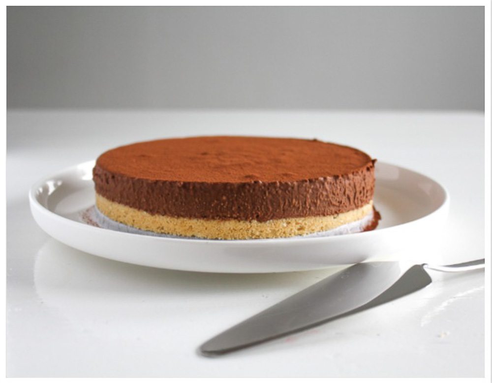 Chocolade mousse taart