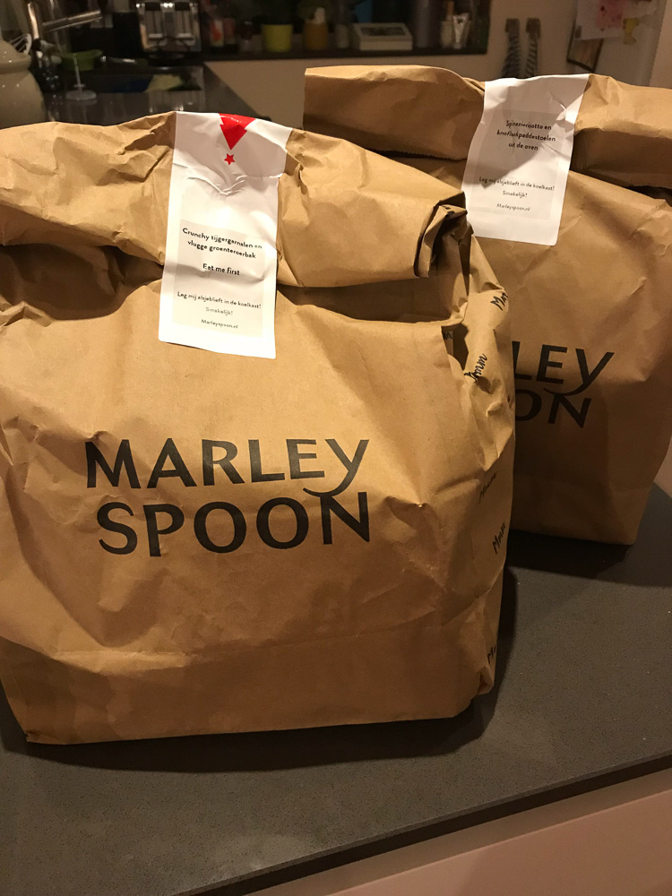 Review Marley Spoon Foodbox