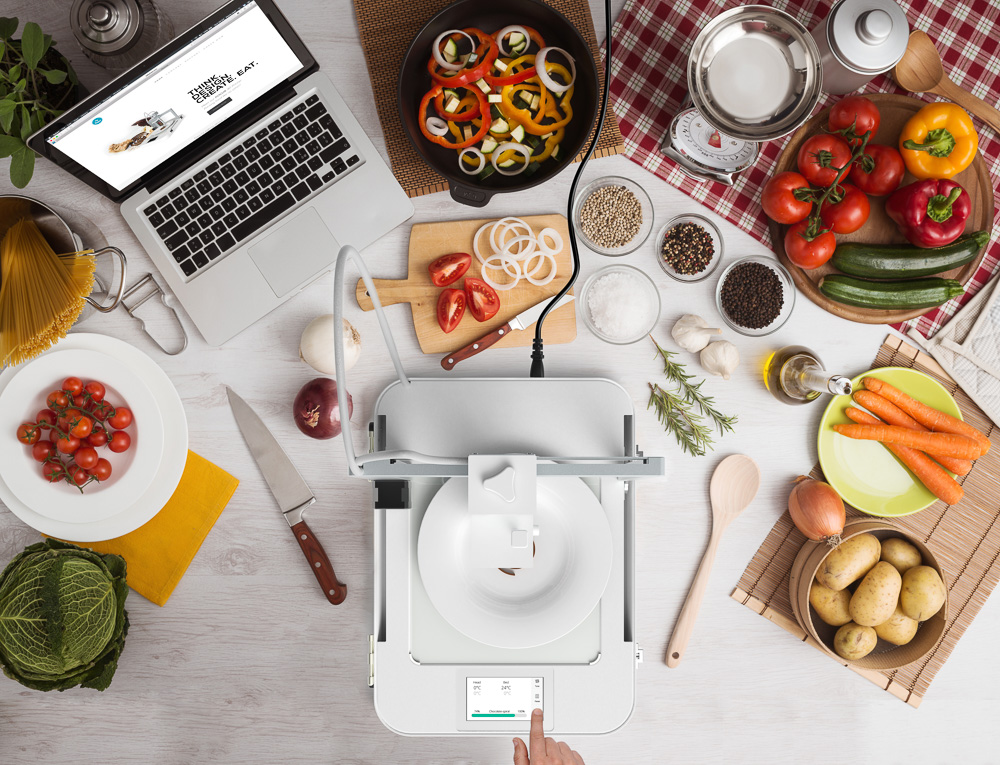 3D food printing: eten we straks allemaal uit de food printer?